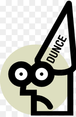 Free download Dunce hat Computer Clip art - Dunce Cap Pictures png.