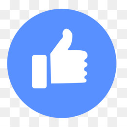 Like Button, Facebook, Facebook Like Button, Blue, Area PNG image with transparent background