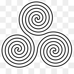 Spiral, Triskelion, Celtic Knot, Area, Monochrome Photography PNG image with transparent background
