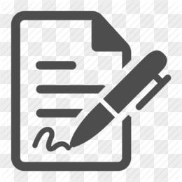 Компьютерные Иконки Подписания Контракта - Векторные Договора Чертеж @kisspng