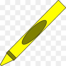 crayon clip art yellow cliparts png download 512 603 free rh kisspng com