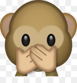 Emoji with galaxy monkey