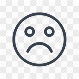 Sad Face PNG & Sad Face Transparent Clipart Free Download - Sadness Face Computer Icons Smiley Clip art - Sad Face Outline.