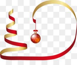 christmas circle ribbon clip art christmas circle cliparts png rh kisspng com