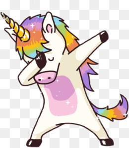 T Shirt Dab Unicorn Being Top Unicorn Background Png