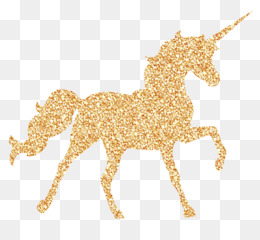 Unicorn, Birthday, Invisible Pink Unicorn, Gold, Fictional Character PNG image with transparent background