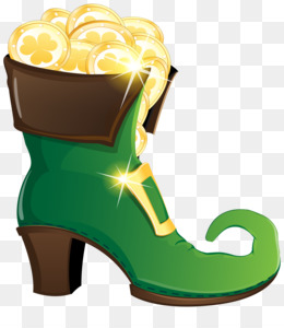 Leprechaun, Shoe, Computer Icons, Yellow, Outdoor Shoe PNG image with transparent background