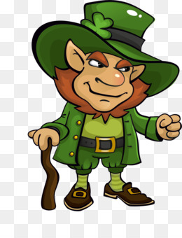 Saint Patrick S Day, Leprechaun, Treasure, Plant, Art PNG image with transparent background