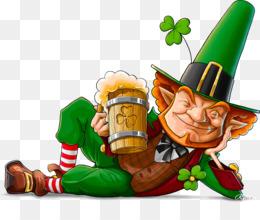 Ireland, Leprechaun, Irish Mythology, Food, Christmas Ornament PNG image with transparent background