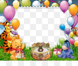 Birthday Cake, Birthday, Picture Frames, Computer Wallpaper, Balloon PNG image with transparent background