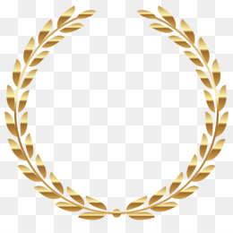 Wreath, Laurel Wreath, Gold, Commodity, Body Jewelry PNG image with transparent background