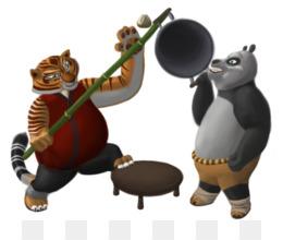 Free Download Tigress Po Giant Panda Kung Fu Panda Fat Kung Fu