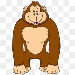 gorilla ape clip art gorilla png download 600 600 free rh kisspng com gorilla clipart easy gorilla clipart png