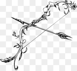 Bow And Arrow, Arrow, Drawing, Art, Point PNG image with transparent background