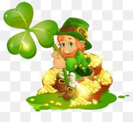 Saint Patrick S Day, Leprechaun, Shamrock, Food, Tree PNG image with transparent background