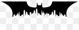Batman, Joker, Silhouette, Computer Wallpaper PNG image with transparent background