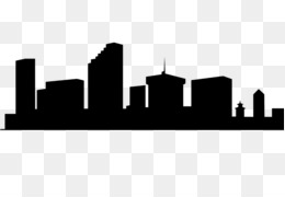 cities skylines new york city silhouette wall decal city rh kisspng com city skyline clip art free kansas city skyline clipart
