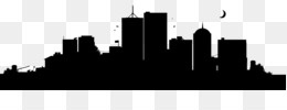 New York City, Skyline, Silhouette, Building, City PNG image with transparent background
