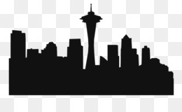 free download space needle seattle seahawks skyline silhouette clip rh kisspng com seattle seahawks clipart seahawks clipart free