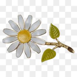 Floral design earring brooch flower flower brooch png download png mightylinksfo