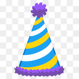 Party Hat, Birthday, Hat, Cone PNG image with transparent background