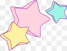 Paper, Sticker, Unicorn, Pink, Star PNG image with transparent background
