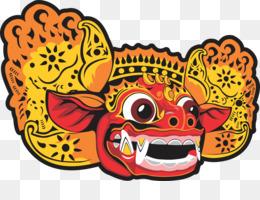 Free Download Bali Barong Art Bali Png