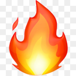 Emoji, Fire, Apple Color Emoji, Computer Wallpaper PNG image with transparent background