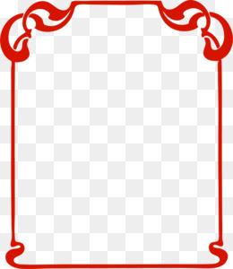 free download picture frames art clip art red frame png