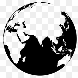 Earth vector png and psd free download earth globe world map png gumiabroncs Image collections