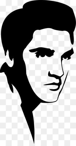 free download elvis presley stencil silhouette clip art elvis png rh kisspng com