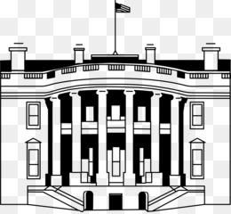 White House, Coloring Book, President Of The United States, Building, Elevation PNG image with transparent background