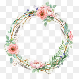 Wedding Invitation, Wreath, Flower, Decor PNG image with transparent background