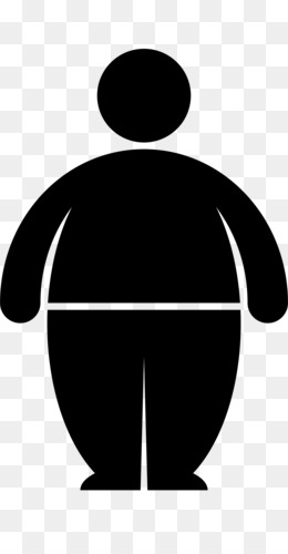 fat man png and psd free download - fat eating man