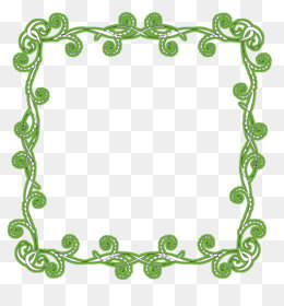 free download new years day greeting wish clip art green frame png