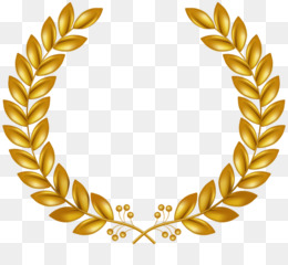 Wreath, Laurel Wreath, Gold, Body Jewelry, Jewellery PNG image with transparent background