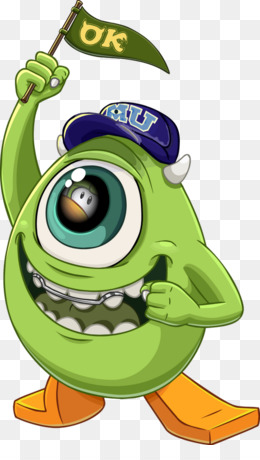 Monsters University PNG Transparent Clipart