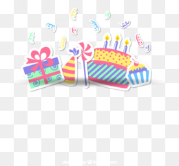 Birthday Cake, Birthday, Gift, Text, Line PNG image with transparent background