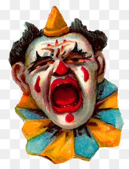 Clown, Circus, Circus Clown, Mask, Masque PNG image with transparent background