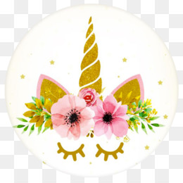 Unicorn, Youtube, Desktop Wallpaper, Plate, Flower PNG image with transparent background