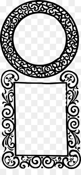 Free download Picture Frames Square Clip art - islamic frame png.