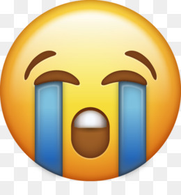 Crying Emoji PNG Transparent Clipart Free Download