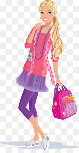 Barbie Princess Charm School PNG And PSD Free Download