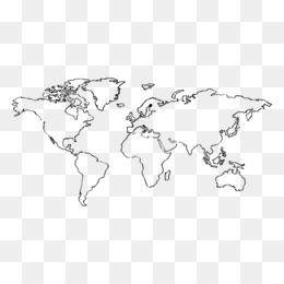 Free download Globe World map Europe - hand drawn png.