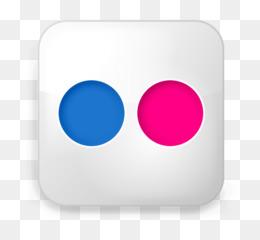 Flickr Logo PNG and Flickr Logo Transparent Clipart Free Download