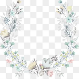 Wedding Invitation, Flower, Wreath, Picture Frame, Plant PNG image with transparent background
