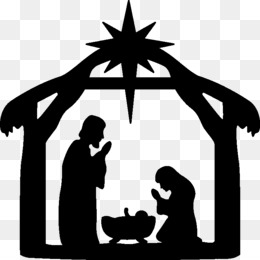 Nativity Scene, Nativity Of Jesus, Christmas, Human Behavior, Silhouette PNG image with transparent background