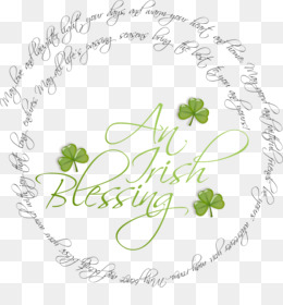Saint Patrick S Day, Blessing, Irish People, Petal, Yellow PNG image with transparent background