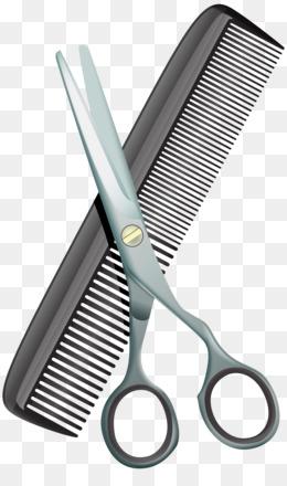 Barber Comb Hairdresser Hairstyle Logo Vector Barber