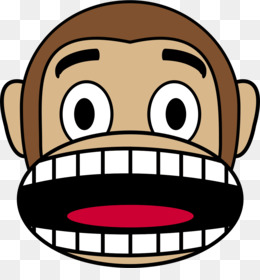 Free download Monkey Ape Emoji Japanese macaque Clip art
